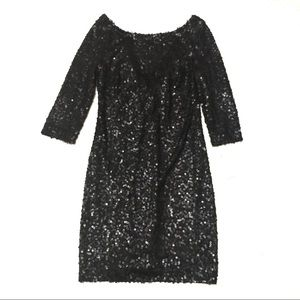 NWT Black sequin Jessica Simpson Dress 2